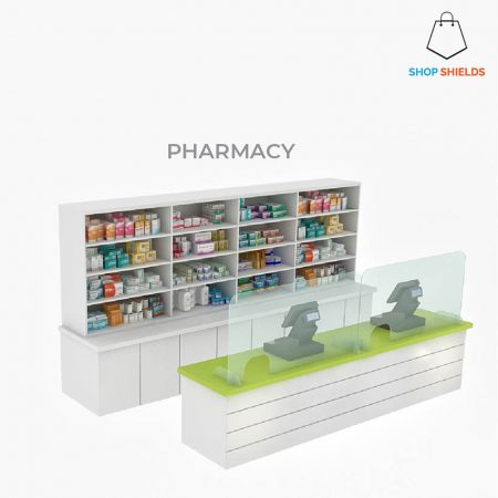 Pharmacy 160cm x 80cm w left right opening